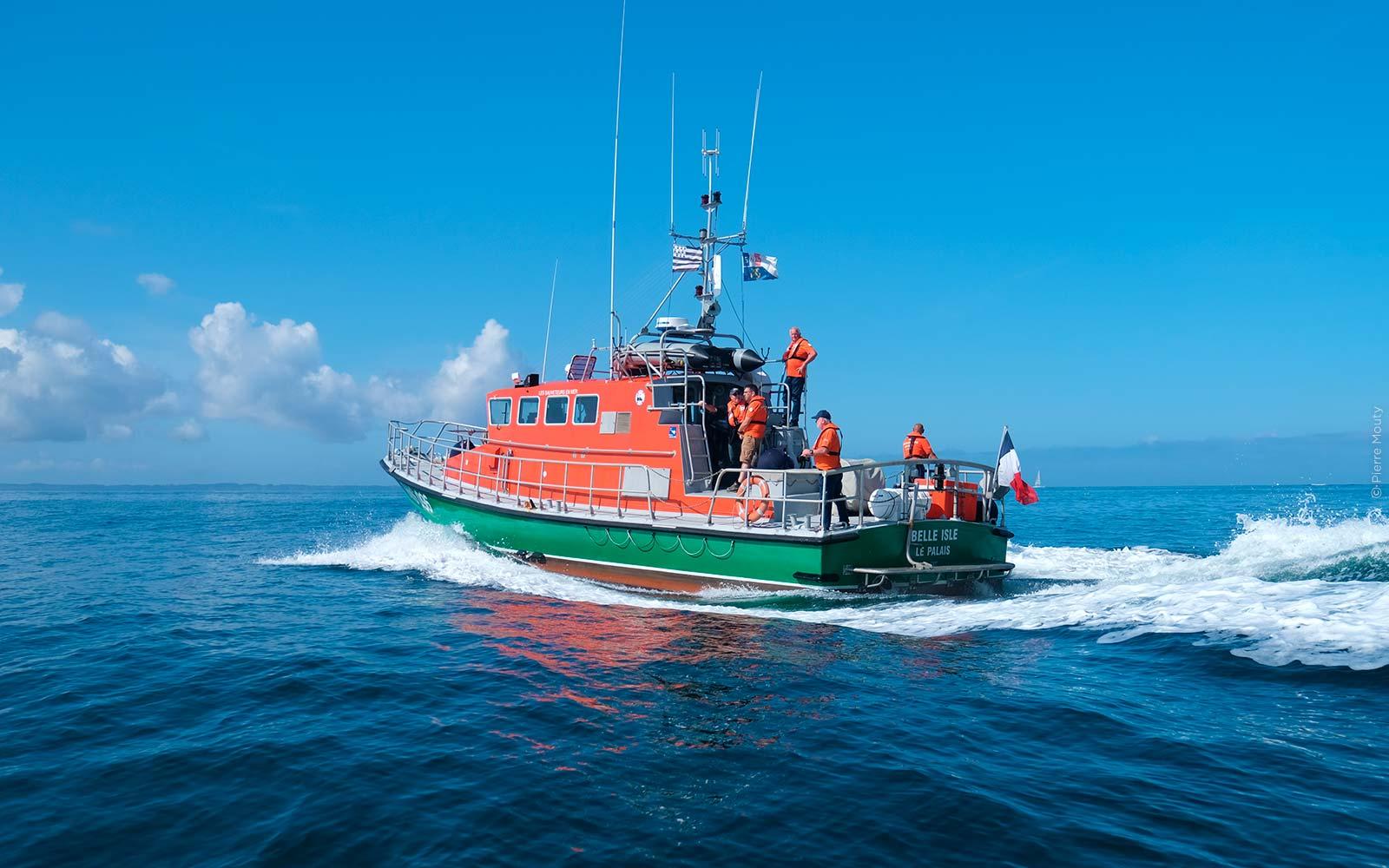 Le canot de sauvetage Belle-Isle